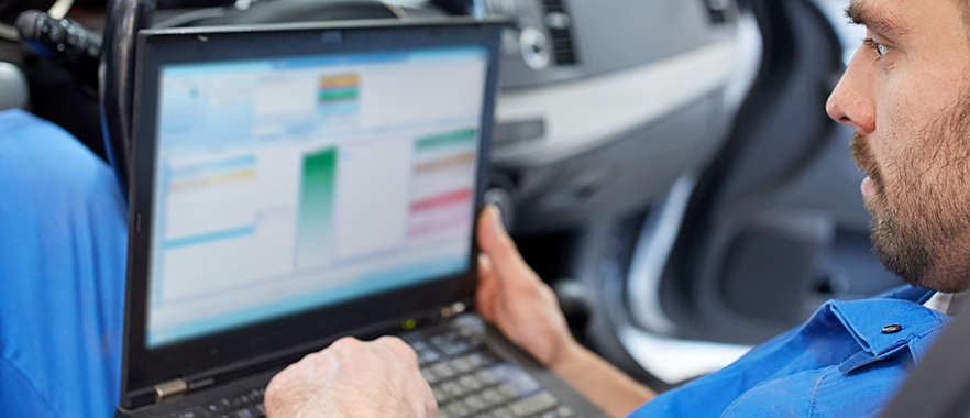 Mechanic diagnosing a vehicle -  Car Diagnostics Biddulph Moor | Stoke on Trent